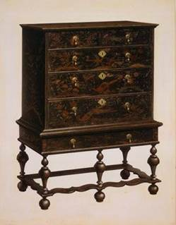 William and Mary Style Dresser